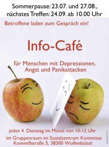 Info Café Sommerpause