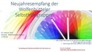 Neujahresempfang der Wolfenbütteler Selbsthilfegruppen