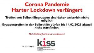 Homepage Harter Lockdown Corona Pandemie 2