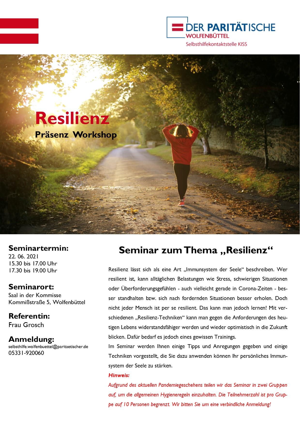 Seminar Resilienz